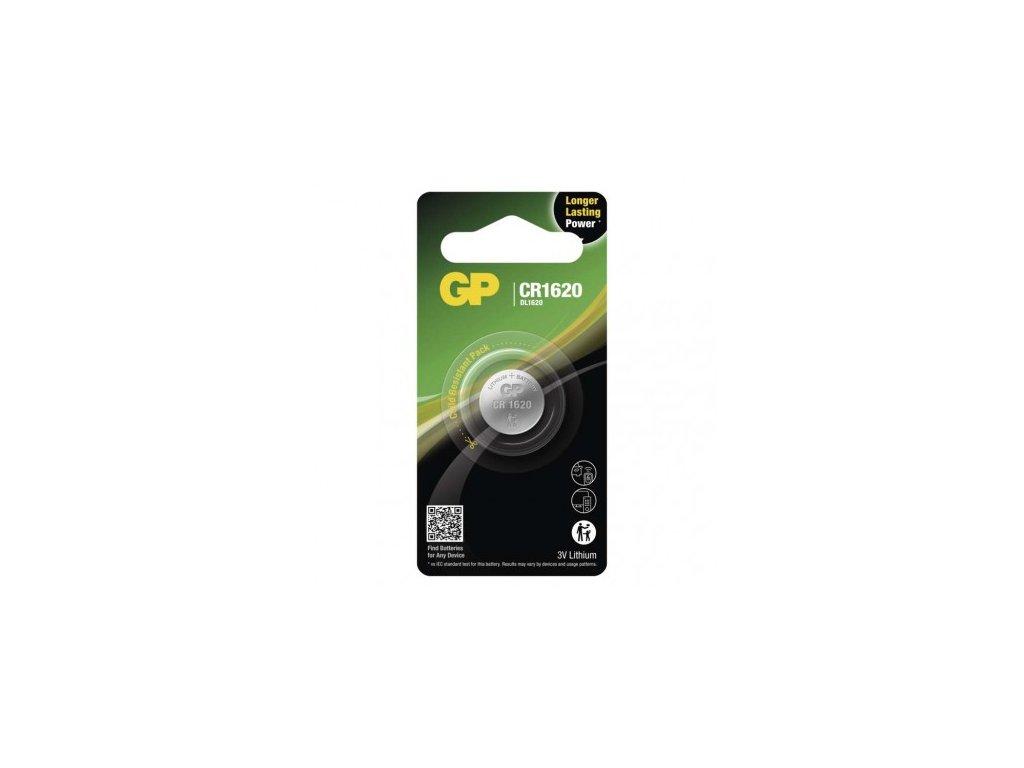 GP Batteries Lithiová knoflíková baterie GP CR1620 B15701