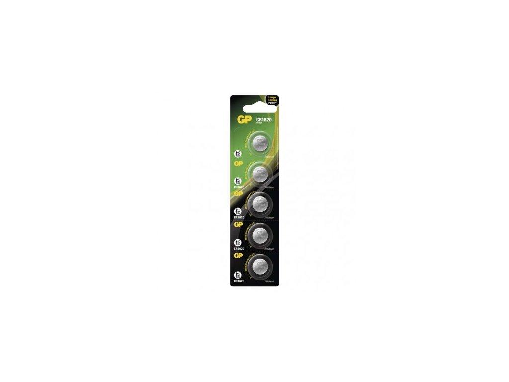 GP Batteries Lithiová knoflíková baterie GP CR1620 B1570