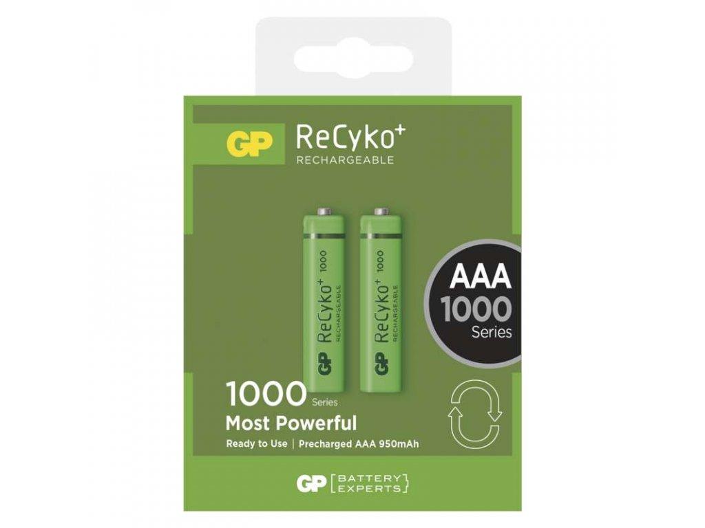 GP Batteries Nabíjecí baterie GP ReCyko+ 1000 (AAA) B1411