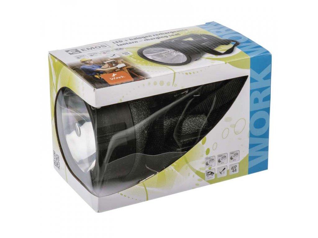 EMOS Nabíjecí svítilna halogenová + 12x LED 3810 EXPERT P2305
