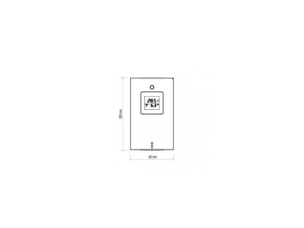 EMOS Bezdrátové čidlo pro meteostanice AOK-5018B a další E05018