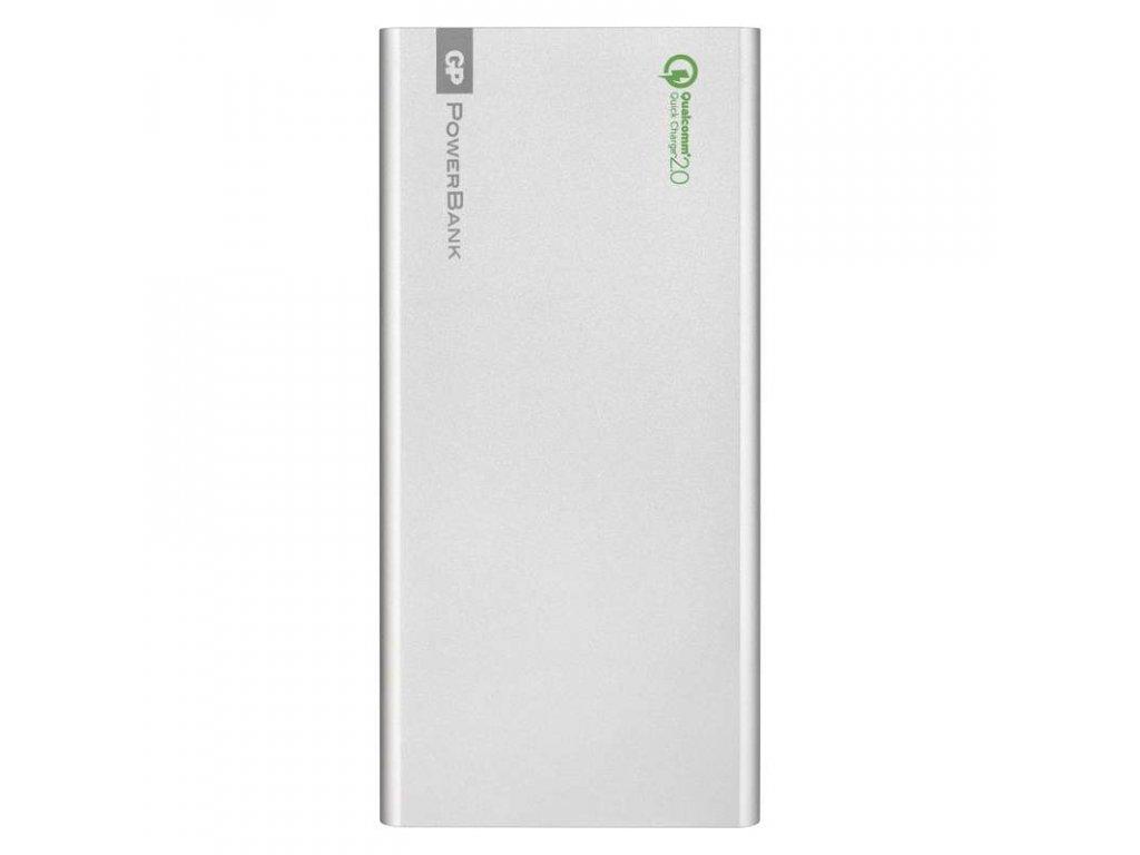 GP Batteries Power bank GP FP10MB 10000mAh stříbrný, QC2.0 B0395S