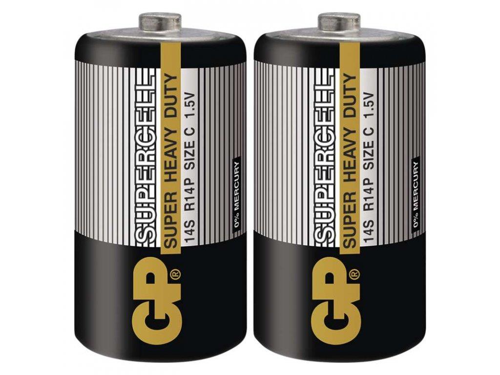 GP Batteries Zinkouhlíková baterie GP Supercell R14 (C) B1130