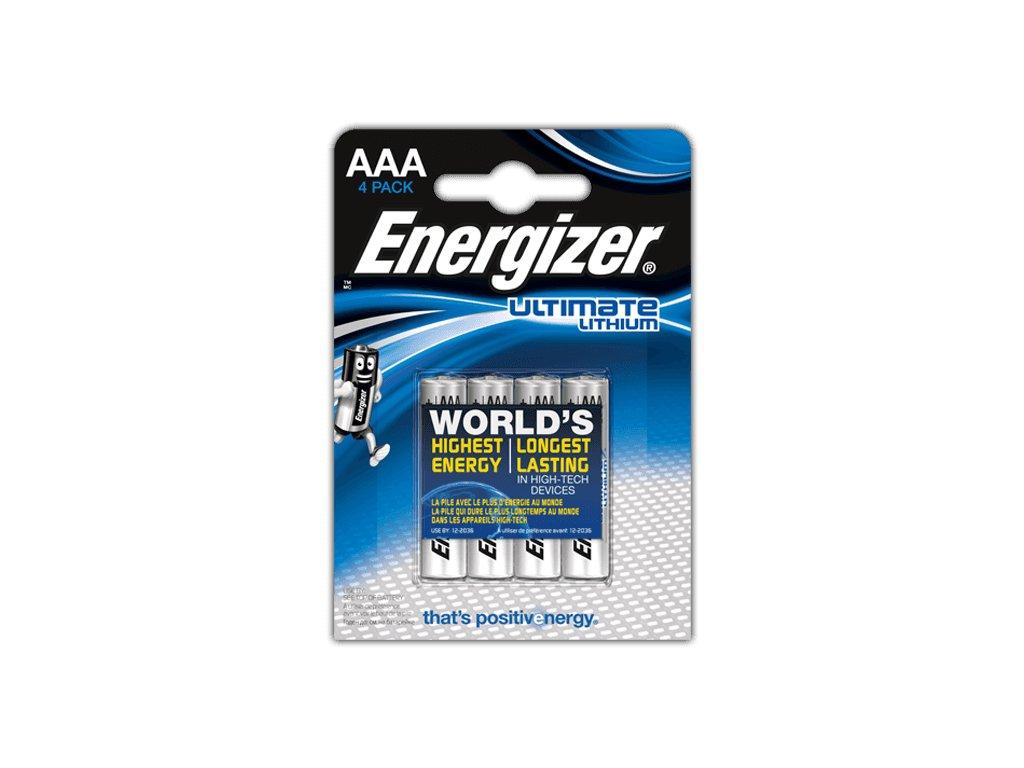 Energizer Lithium AAA 4ks 35035752