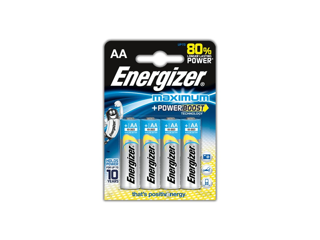 BATERIE ENERGIZER MAXIMUM, AA LR6/4