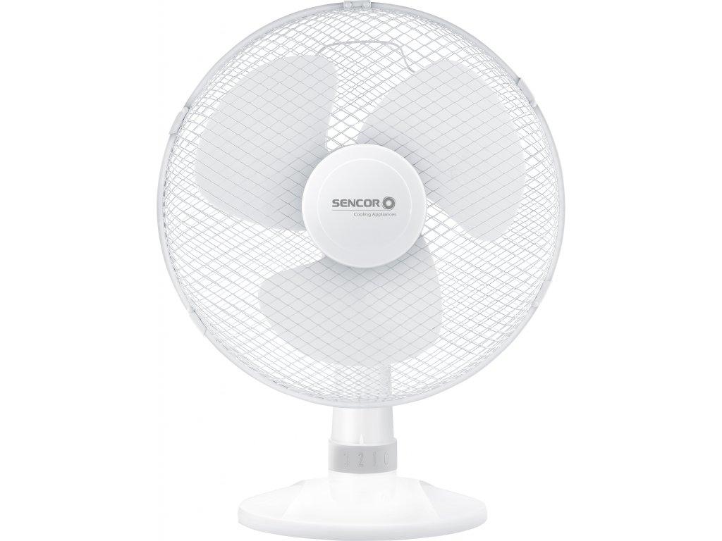 SENCOR stolní ventilátor SFE 3027WH