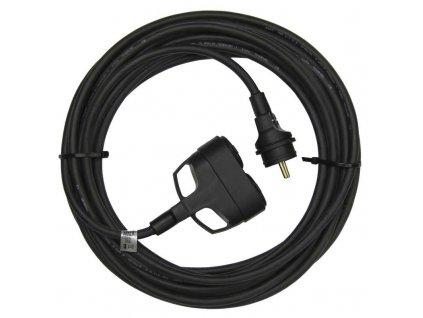 EMOS 1f prodlužovací kabel 3x1,5mm 2 zásuvky 20m PM0603