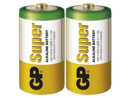 Alkalická baterie GP Super C (LR14)