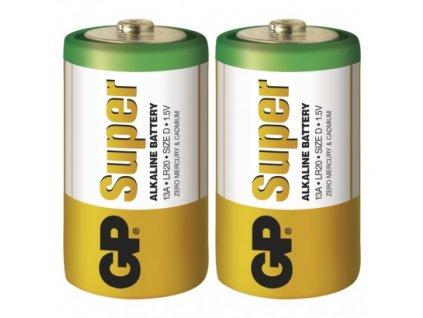 GP Batteries Alkalická baterie GP Super D (LR20) B1340