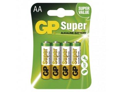 GP Batteries Alkalická baterie GP Super AA (LR6) B1321