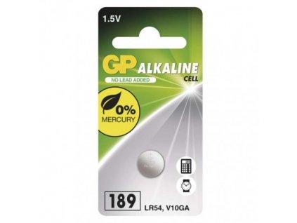 GP Batteries Alkalická knoflíková baterie GP 189F (LR54) B13892