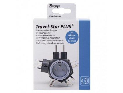 Kopp Cestovní FRENCH adaptér do zahraničí (Amerika, Asie, Afrika) P0053