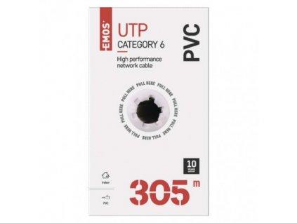 EMOS Datový kabel UTP CAT 6, 305m S9131