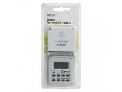 EMOS Digitální časovač SCHUKO TGE-5 P5525