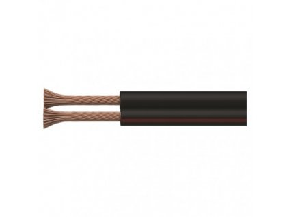 EMOS Dvojlinka nestíněná 2x1,5mm černo-rudá, 100m S8290