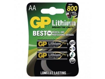 GP Batteries Lithiová baterie GP AA (FR6) B15212