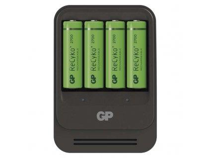 GP Batteries Nabíječka baterií GP PB570 + 4× AA GP ReCyko+ 2700 mAh B0057