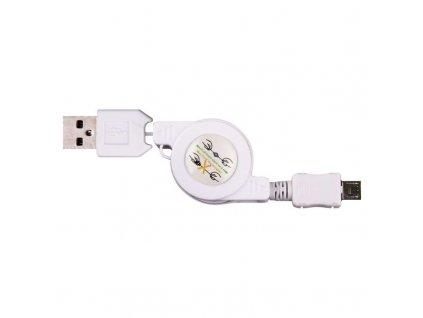EMOS USB kabel 2.0 A/M - micro B/M 0,8m SM7040
