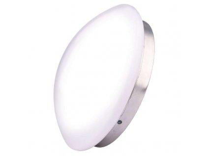 EMOS Lighting LED přisazené svítidlo, kruh stříbrná 8W teplá bílá ZM3101