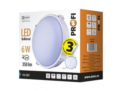 EMOS Lighting LED přisazené svítidlo, kruh 6W denní bílá ZM3209