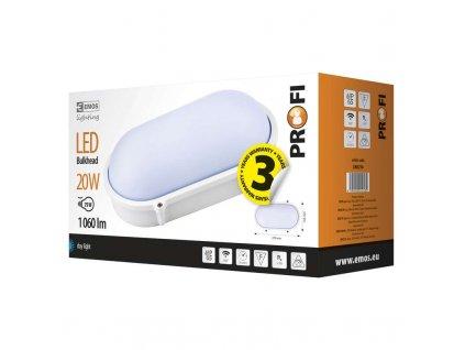 EMOS Lighting LED přisazené svítidlo, ovál 20W denní bílá ZM3214
