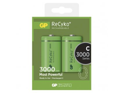 GP Batteries Nabíjecí baterie GP ReCyko+ 3000 (C) B0832