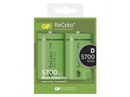 GP Batteries Nabíjecí baterie GP ReCyko+ 5700 (D) B0842