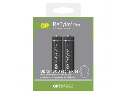 GP Batteries Nabíjecí baterie GP ReCyko+ Pro Prof. 2000 (AA) B0827