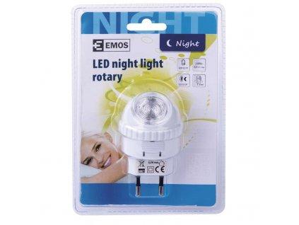 EMOS Lighting Noční světlo do zásuvky 230V, 1x LED 0,5W P3301