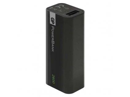GP Batteries Power bank GP 1C02 2600mAh černý B0393B