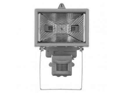 EMOS Lighting Halogenový reflektor 150W s PIR senzorem bílý G2312