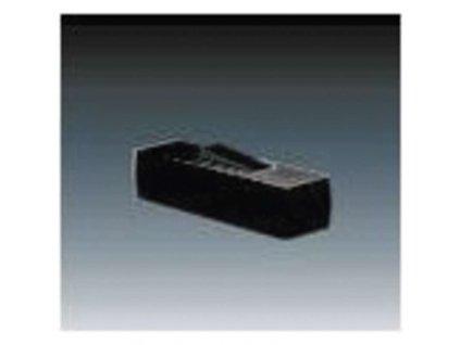 ABB Spínač jednopólový šňůrový koncový 3555-01920 černý A1211.0
