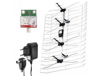 Venkovní anténa EMOS ASP-25, 40 dBi DVB-T2