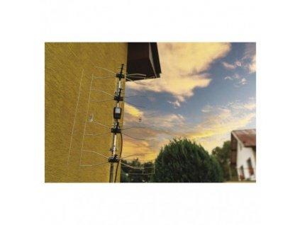 Venkovní anténa EMOS ASP-8, 12 dBi DVB-T2