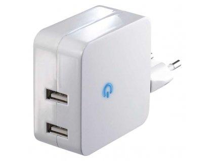 EMOS Univerzální duální USB adaptér do sítě 4,2A (21W) max. V0124
