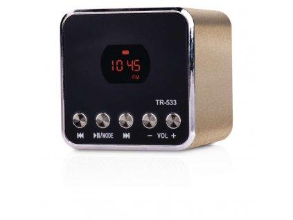 Soundbox EMOS TR533G, zlatá