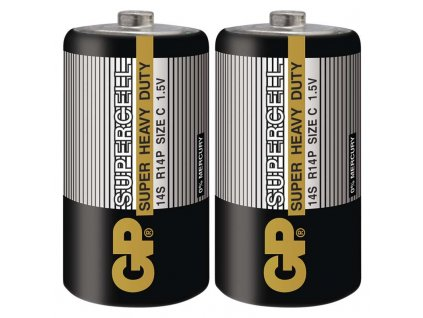 GP Batteries Zinkouhlíková baterie GP Supercell R14 (C) B1130