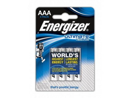 Energizer Ultimate Lithium AAA 4ks 35035752