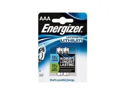 ENERGIZER BATERIE ULTIMATE LITHIUM, AAA FR03/2