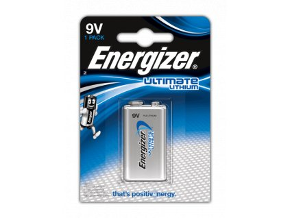 Baterie ENERGIZER ULTIMATE LITHIUM, 9V