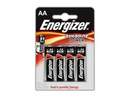 Baterie ENERGIZER POWER ALKALINE, AA LR6 4ks