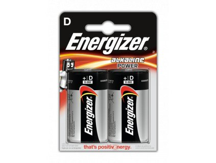 Baterie ENERGIZER  POWER D LR20 2 Ks (blistr)