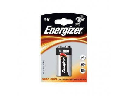 Baterie ENERGIZER  POWER ALKALINE, 9V  6LR61 1ks