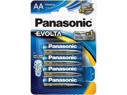 Baterie Panasonic Evolta AA LR6 4 ks