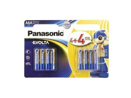 Baterie Panasonic Evolta AAA LR03 8 ks