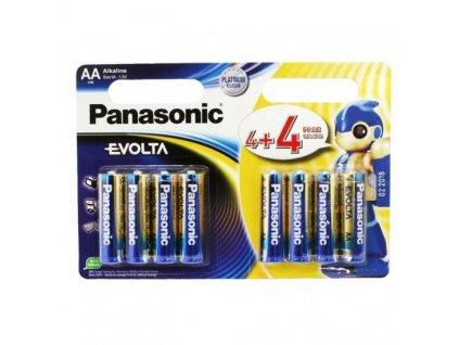 Baterie Panasonic Evolta AA LR6 8 ks