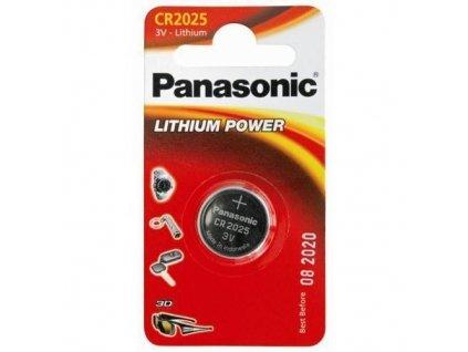 Panasonic Lithiové knoflíkové baterie CR2025 1 ks