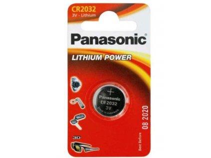 Panasonic Lithiové knoflíkové baterie CR2032 1 ks