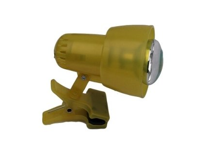 Bodové plastové svítidlo na CLIP E14 - R50 max. 40W žlutá 530/KL