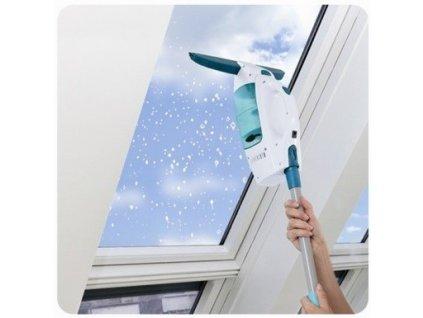 Leifheit Vysavač na okna s tyčí a oboustranný mop 51147
